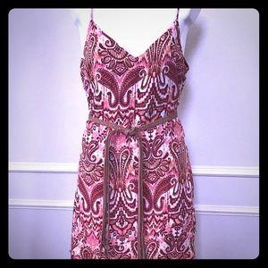 NWT Sanctuary dress. Size Large. Rope belt.